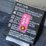 Stick on Clothing Label with Image LAUNDER™