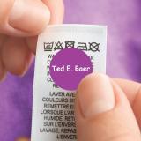 Round Clothing Name Labels LAUNDER™