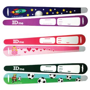 Childrens ID Wrist Bands (Pack of 10)