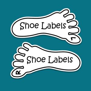 Shoe Label - Foot Design